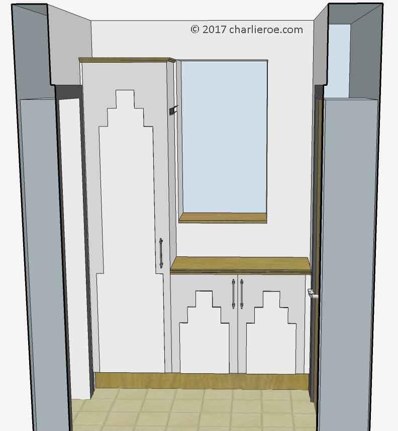 12 Art Deco Kitchen Designs And Furniture: New Art Deco Skyscraper Style Designer Fitted Kitchens