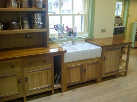 new arts crafts movement cfa voysey style fitted unfitted kitchen furniture. Black Bedroom Furniture Sets. Home Design Ideas
