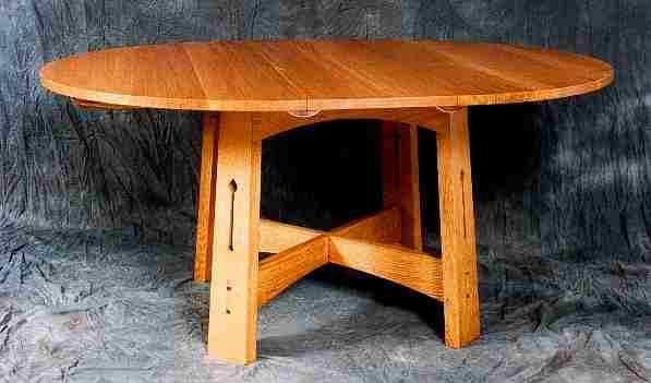 CFA Voysey Arts Crafts Movement Style Dining Furniture