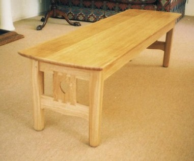 Arts and crafts oak coffee table gebraucht