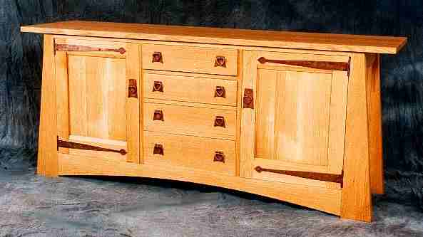 Cfa Voysey Arts Crafts Movement Style Dining Furniture Chairs Table Sideboard Display