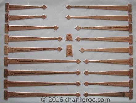 New Cfa Voysey Arts Amp Crafts Movement Copper Brass Steel