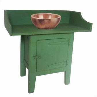 Painted Green Arts Crafts Movement Reformed Gothic Revival Furniture