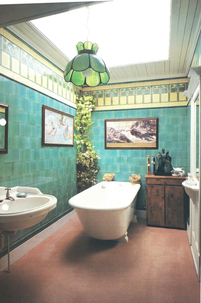 William Morris Style Arts Amp Crafts Movement Bathrooms
