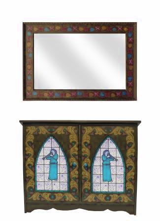 New William Morris Style Arts Amp Crafts Movement Bathroom