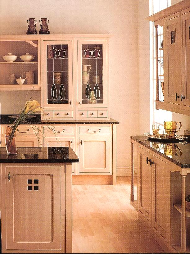 Charles rennie cr mackintosh glasgow school fitted wood for Kitchen ideas glasgow