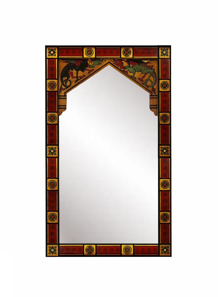 Gothic style mirrors pictures to pin on pinterest pinsdaddy for Mirror frame styles